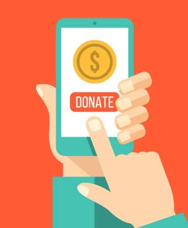 online donations narrow