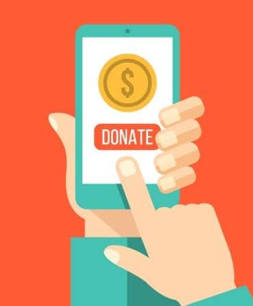 online donations narrow